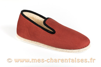 Charentaises design hommes Migeot